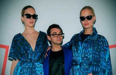 Tweet-Designed Dresses - Christian Siriano x Verizon's Social Media Dress Was Crafted from Tweets