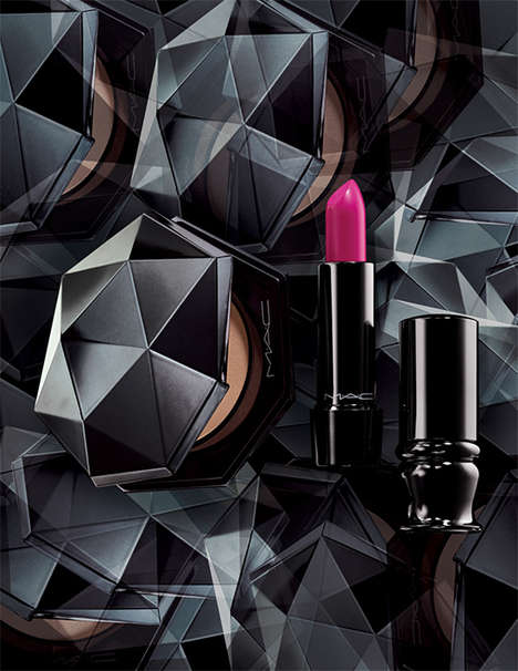 Prismatic Cosmetics Packaging - The MAC Ultimate Collection Boasts Geometric Branding