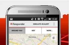 Emergency Response Apps - The GoodSAM Application Alerts Nearby First Aid During a Sudden Accident