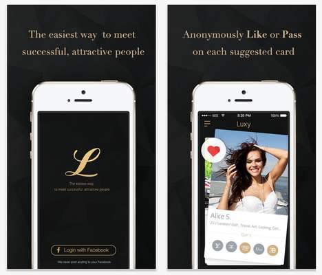 Luxurious Dating Apps - The Luxy App is Tinder Made Exclusively for the Wealthy and Attractive