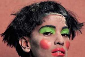 The CR Fashion Book #5 Features Some Garish Makeup