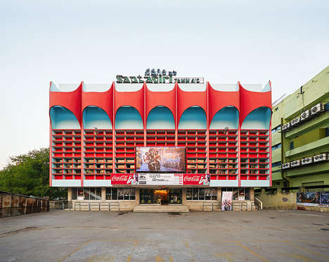 Theater Facade Photography - Stefanie Zoche and Sabine Haubitz Document Vibrant Fronts in India