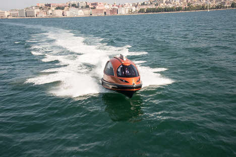 Capsule Water Taxis - The 2015 Jet Taxi is an Upgrade to Water Travel
