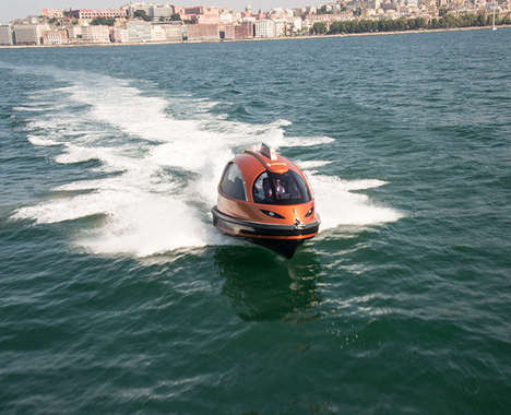 Capsule Water Taxis