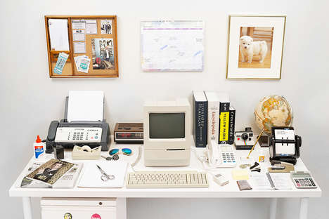Desk Evolution Artwork - Harvard Innovation Lab Shows How the Workspace Has Changed Over the Years
