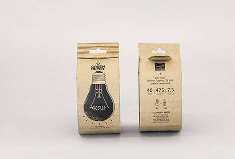Eco-Friendly Light Packaging - Hyunseo Design Creates a Recyclable Design