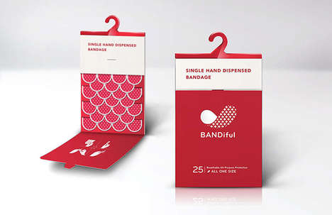 Vibrant Bandage Branding - Bandiful Breaks the Mould for Plaster Packaging