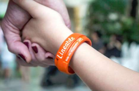 Child-Tracking Wristbands - Lineable is a Smart Child Tracker Device That Makes Use of Beacon Tech