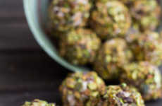 Chunky Pistachio Truffles - This Savory Greek Yogurt Bites Recipe Features a Mix of Tasty Textures