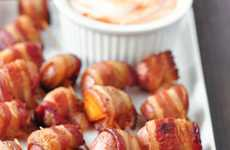 Bacon-Wrapped Potato Bites - This Bite-Size Snack is a Delicious and Hearty Snack