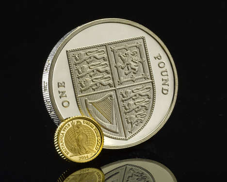 Tiny British Coins - This Small Coin from the Royal Mint Revives the Image of Britannia