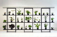 Self-Watering Plant Shelves