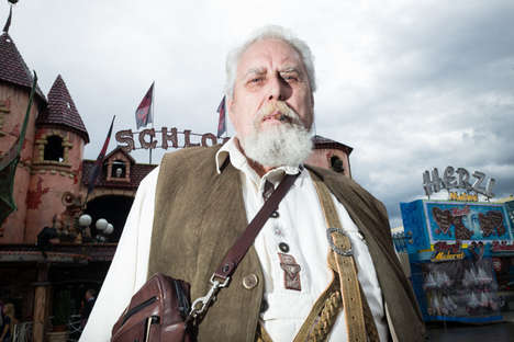 Festive Oktoberfest Photography - Christopher Nilson Captures Bearded Men and Beer Maidens