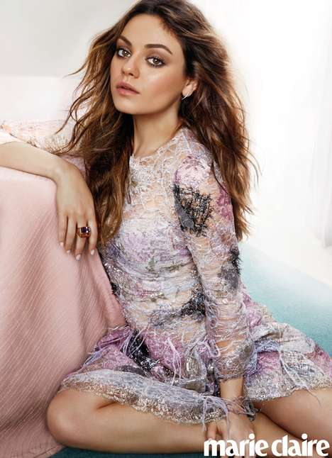 11 Stunning Mila Kunis Editorials - The Ashton Kutcher & Mila Kunis Baby Girl was Born Tuesday Night