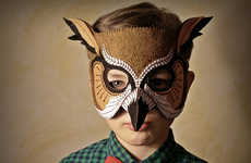 Felt Avian Disguises - Etsy's Owl Mask is the Perfect Accessory for Halloween