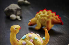 Prehistoric 3D Desserts - This Dinosaur Cake Molds Turns Your Favorite Dinos Into Tyrannical Treats
