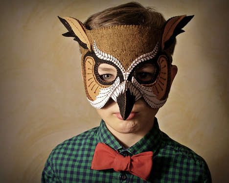 30 Creative Halloween Masks - From Theatrical Face Adornments to Terrifying Character Disguises