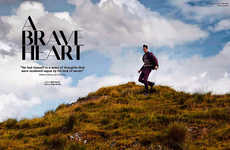Scenic Menswear Editorials - L'Officiel Hommes Germany's A Brave Heart Story Boats Layered Fashions