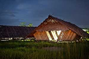 Agora Architects Created a Bamboo Structure to Help Fleeing Burmese