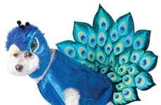 Pet Peacock Disguises - This Peacock Costume For Dogs Will Make Your Pup Stand Out on Halloween