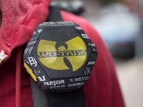 Album-Integrated Speakers - Boombitix' Limited Edition Speaker Comes Loaded with Wu-Tang Songs