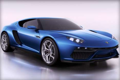 Luxury Plug-In Hybrids - The Lamborghini Asterion is a Powerful Eco-Friendly Vehicle