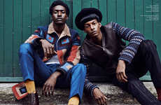 Nostalgic 70s Menswear - L'Officiel Hommes Germany's Editorial Boasts Retro Fall Fashions