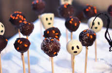 Ghostly Cake Pop Recipes - These Spooky Cake Pop Designs are Perfect for Celebrating Halloween