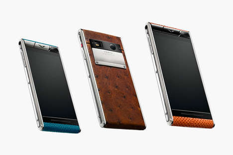 Luxuriously Crafted Smartphones - The Vertu Aster Promises Luxury and Functionality