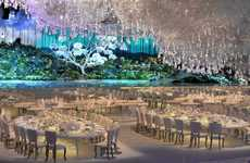 Ethereal Wedding Venues - This Wedding Reception Design is Dreamy and Dramatic