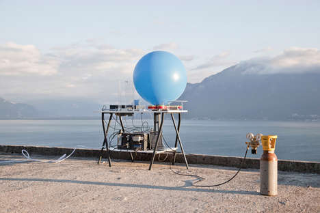 Poetic Balloon Messages - Attachment by David Colombini Sends Messages to Strangers by Air