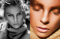 Bronze Beauty Editorials