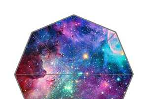This Durable and Stylish Umbrella Features a Nifty Nebula Print