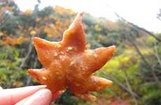 Fried Maple Leaf Snacks - The Japanese People of Minoo City Eat Crispy Foliage