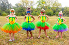 Ninja Turtles Tutus - ZoesBowtique7's Unique Ballerina Costumes are Action Hero Themed
