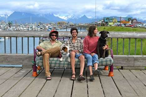 Canine Companion Roadtrips - Three Friends, Two Dogs and One Futon Embark on a Journey