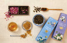 Fresh Floral Tea Packaging - Daebete by Victor Design Focuses on Natural and Pretty Ingredients