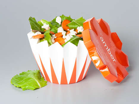 Coordinated Salad Bowls - Bright Bites' Salad Bowls Match the Vibrancy of the Ingredients Inside