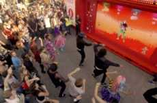 Interactive Dance Installations - Coca-Cola Offers Exslusive In-Game Content for Just Dance Now