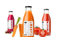 15 Green Beverage Branding Examples - From Farm Fresh Juice Packaging to Pyramid Juice Packaging