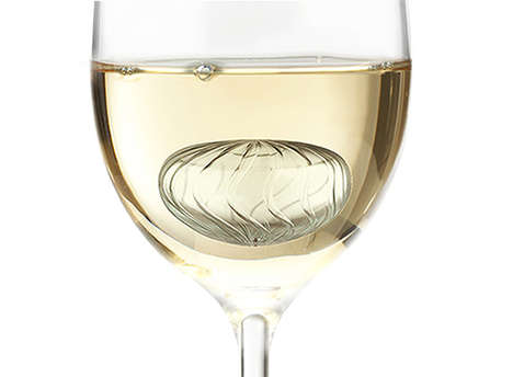 Oenophile Ice Cubes - Wine Twirls Keep Your Champagne Chilly Right to the Last Sip