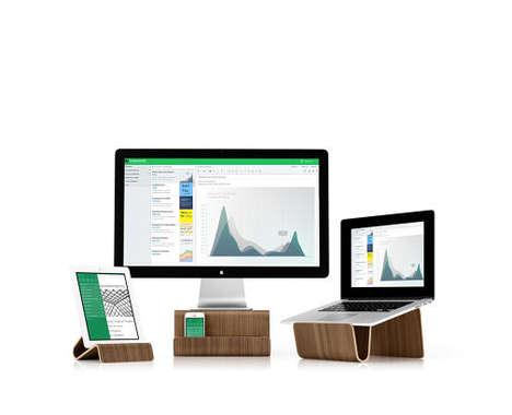 Wood Computer Stands