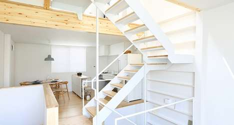 Stylishly Simplistic Abodes - This Vertical House in Tokyo was Designed by Japanese Company MUJI