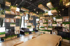 Indoor Garden Cafes