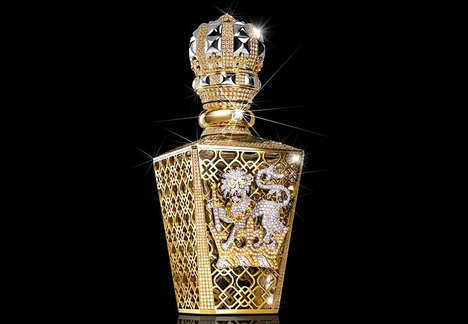 Extravagant Crystal Fragrances - Harrods Introduces One of the Most Expensive Perfumes