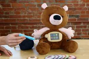 This Educational Teddy Bear Shows Kids How To Monitor Their Disease