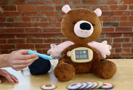 Diabetes-Teaching Teddies - This Educational Teddy Bear Shows Kids How To Monitor Their Disease