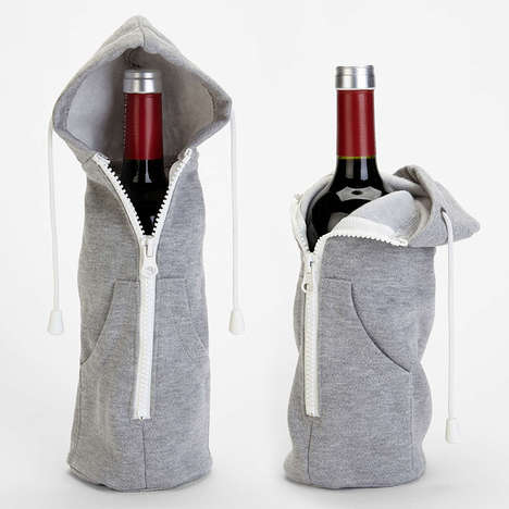 Top 100 Drinking Ideas in October - From Quilted Tea Packaging to Wintery Alcoholic Containers