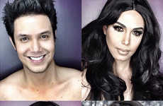 Celebrity Makeup Transformations - Paolo Ballesteros Undergoes Makeup Metamorphoses