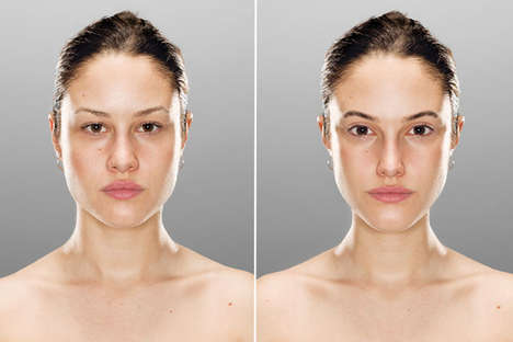 Idealized Facial Comparisons - The Original/Ideal Project Examines